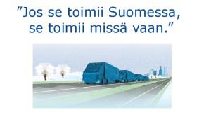 Kuva: Robottiliikenteen esitys, 1.9.2015, Kirsi Miettinen, LVM.