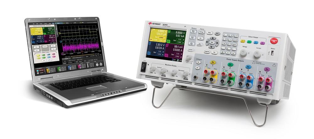 Kuva 6. Paristokäyttöisten laitteiden mittaamiseen on kehitetty erikoisratkaisuja. Kuvassa Keysightin SMU-mittausyksiköitä, jotka soveltuvat esimerkiksi IoT-antureiden lisäksi älypuhelinten, tablettien, autojen ohjausyksiköiden tai sirusarjojen analysointiin.